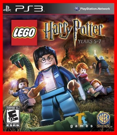 Lego harry potter years 5-7 - Ps3 ( USADO )