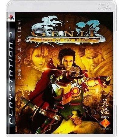 Genji Days Of The Blade - PS3 ( USADO )