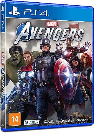 Marvel Avengers - Ps4 ( USADO )