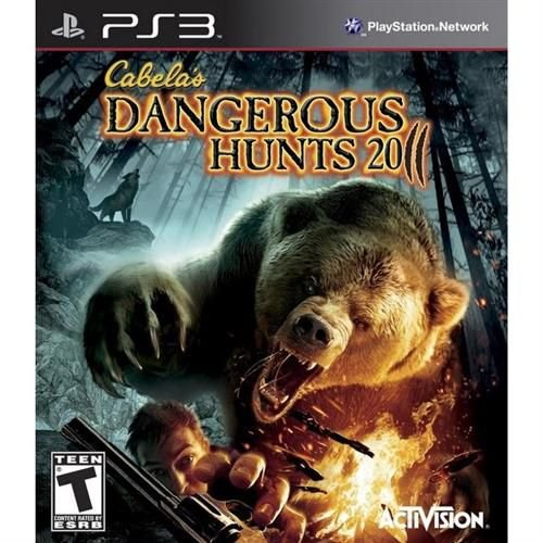 Cabela's Dangerous Hunts 2011 - PS3 ( USADO )