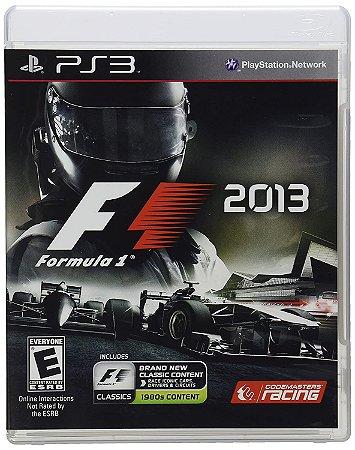 Formula 1 2013 - PS3 ( USADO )