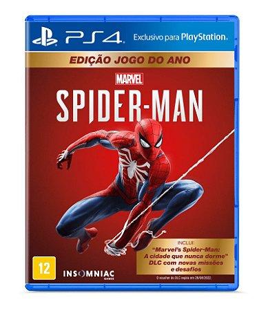 Spider-Man Edição Jogo Do Ano - Ps4 ( USADO )