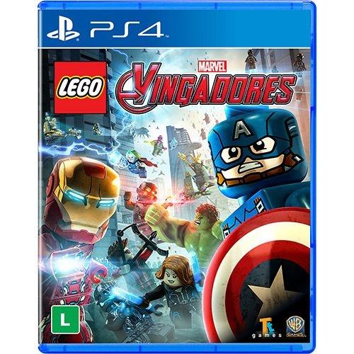 Lego Marvel Vingadores - PS4 ( USADO )