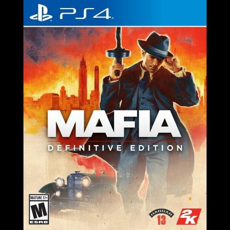 Mafia Definitive Edition - PS4 ( USADO )