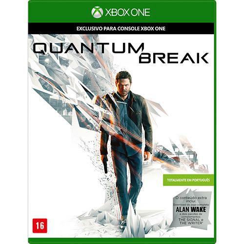 QUANTUM BREAK - XBOX ONE ( NOVO )