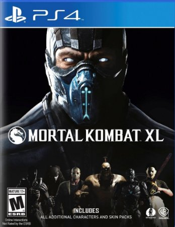 Mortal Kombat XL - PS4 ( USADO )