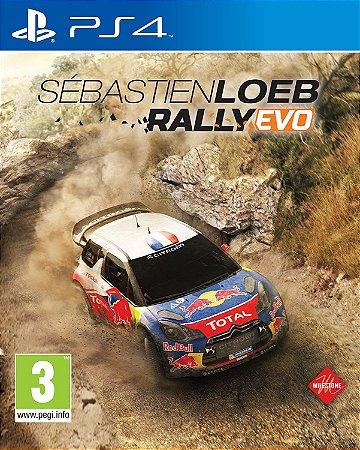 Sébastien Loeb Rally Evo - PS4 ( USADO )