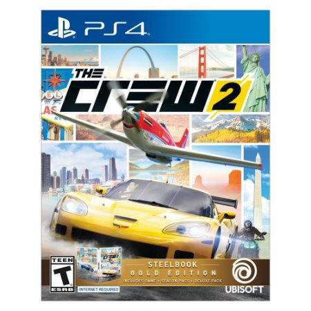The Crew 2 Steelbook Gold Edition - Ps4 ( USADO )
