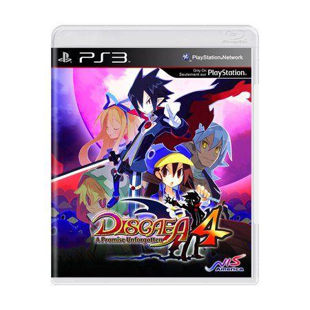 DISGAEA 4 A PROMISE UNFORGOTTEN - PS3 ( USADO )