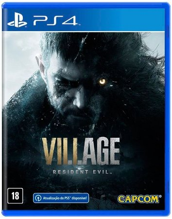 Resident Evil Village  - PS4 ( NOVO )