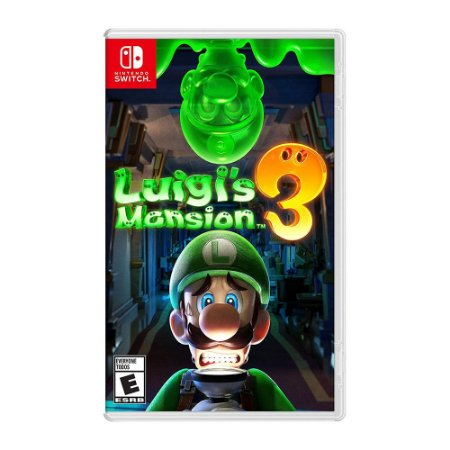Luigi's Mansion 3 - Nintendo Switch ( USADO )