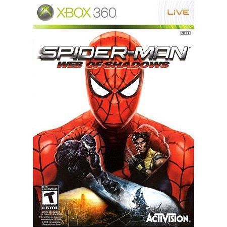 Spider Man Web Of Shadows - Xbox 360 ( USADO )