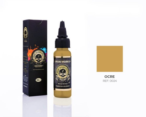 TINTA IRON OCRE 30ML