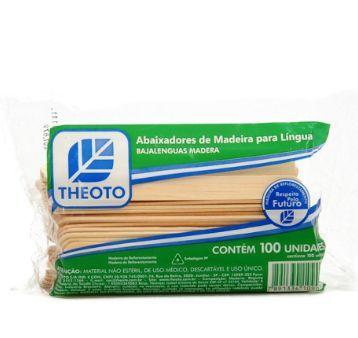 ABAIXADOR DE LINGUA THEOTO 100UNID