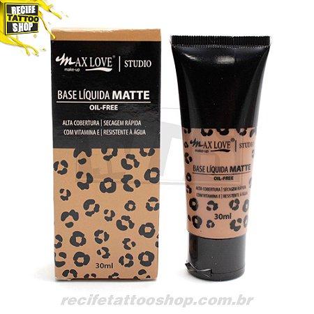BASE LIQUIDA MATTE OIL-FREE MAXLOVE N 100