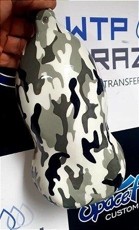 pelicula para water transfer printing modelo CAMUFLADO MODELO 0074  tamanho 1mts x 50cm de largura