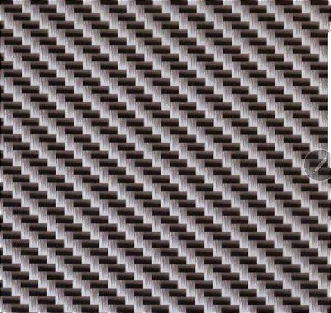 pelicula para water transfer printing modelo  carbono tramas em malhas cinza  tamanho 1mts x 50cmts de largura