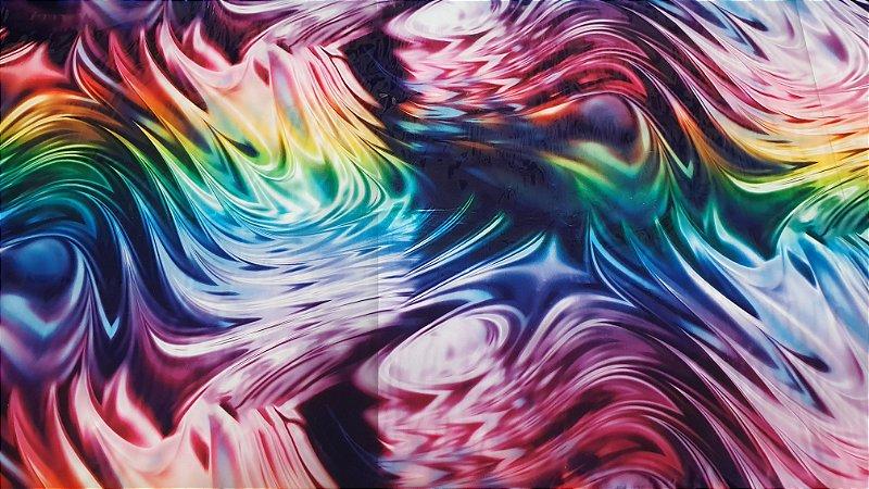 pelicula para pintura hidrografica modelo ART COLORS - tamanho 1 mts comprimento x 50 cmts largura