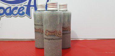 Z - Metal flake prata  conteudo 60 ml - rendimento de 1 lata de verniz de 900ml