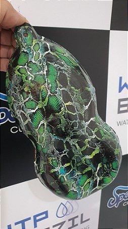 pelicula para water transfer printing modelo PELE DE SERPENTE   tamanho 1mts x 50 cmts de largura