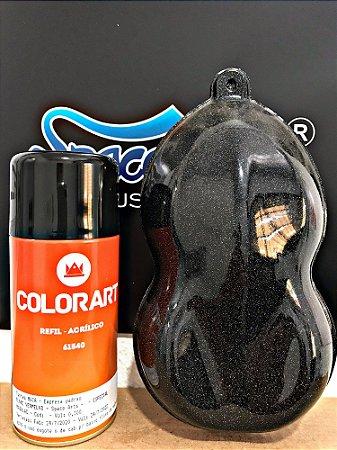 Z - metal flake spray cor vermelho - conteudo 300 ml