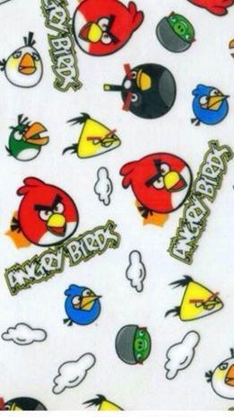 pelicula para water transfer printing modelo angry birds tamanho 1mts x 50cm de largura