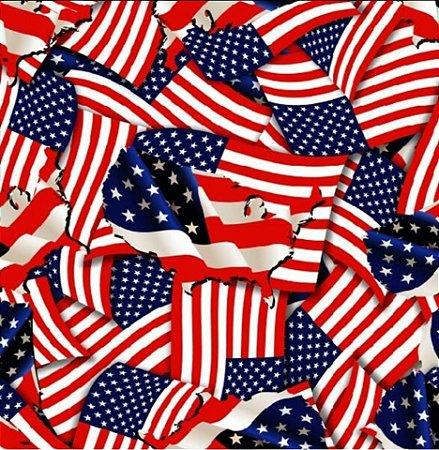pelicula para water transfer printing modelo bandeira americana  tamanho 1mts x 50cm de largura