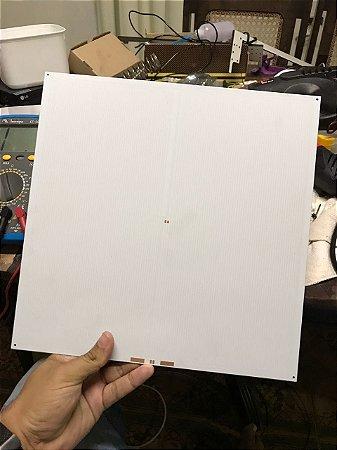 Mesa aquecida 318 x 318 mm Aluminio #1,6mm