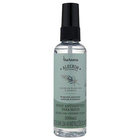 Spray Antisséptico Para Mãos - Alecrim
