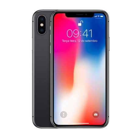 Iphone X Cinza-Espacial 256GB