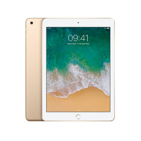 "New iPad 9.7"" 32GB Dourado Wi-Fi"
