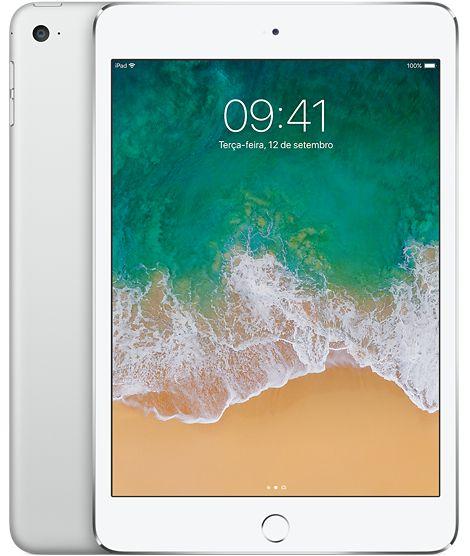 iPad Mini 4 Prata 128GB Wi-Fi