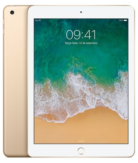 New iPad Dourado 128GB Wi-Fi