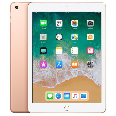 """iPad 6ª Geração 9.7"""" 32GB Dourado Wi-Fi (compatível com Apple Pencil)"""