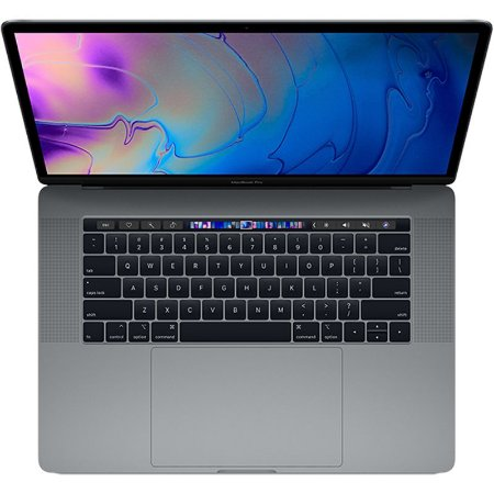 "MacBook Pro 15"" Space Gray Touch Bar/ID - i7 2.6Ghz / 16GB Ram / 512GB SSD - Modelo MR942LL (2018)"