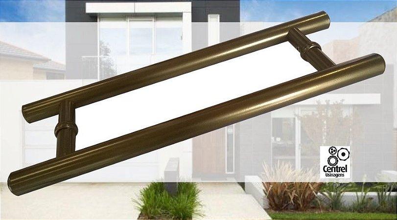 Puxador Tubular - Cor Bronze - Vários Tamanhos