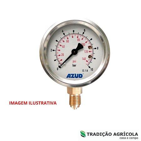 MANOMETRO C/ GLICERINA 0-6 BAR - AZUD