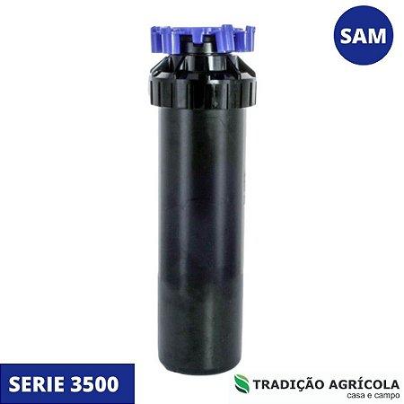 ASPERSOR ROTOR P/ IRRIG. 3504 CÍRCULO CHEIO OU PARCIAL SAM