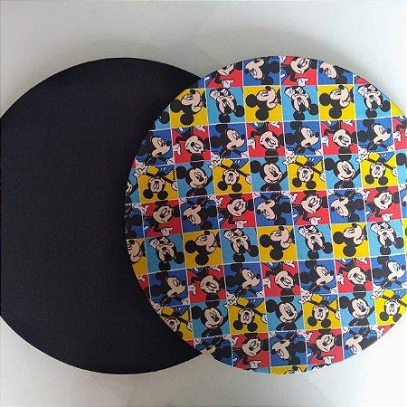 Capa dupla Face Sousplat para Mesa Posta do Mickey.