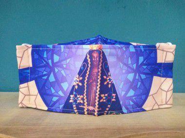 Máscara Personalizada Nossa Senhora Aparecida a pronta entrega