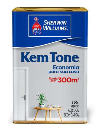 KemTone Acrílico Fosco Branco - 18L