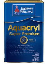 Aquacryl Acrílico fosco Branco - 18L