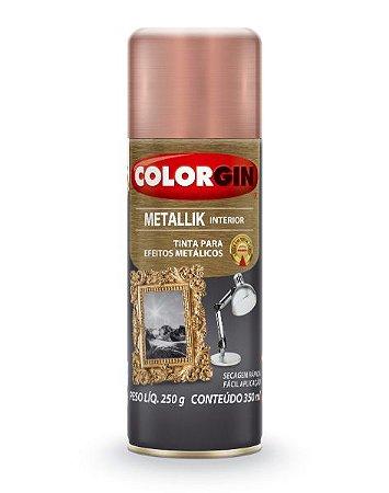 Spray Metallik Rose Gold 350ml