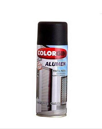 Spray Alumen Preto Fosco 350ml