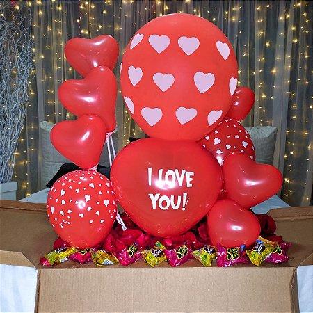 Caixa Balão Love