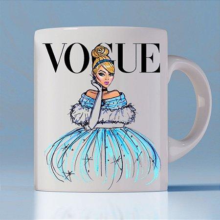 Caneca Vogue Princess Cinderela