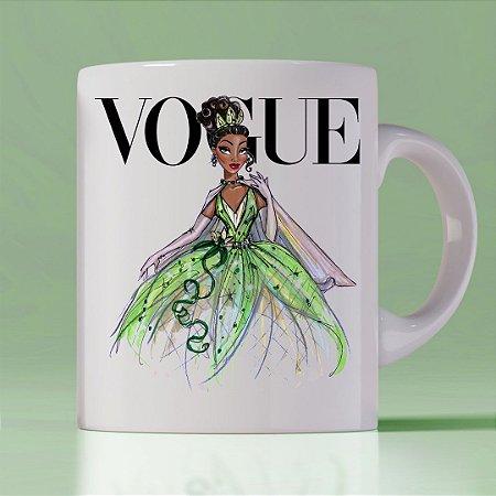 Caneca Vogue Princess Tiana
