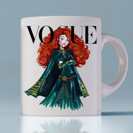 Caneca Vogue Princess Merida