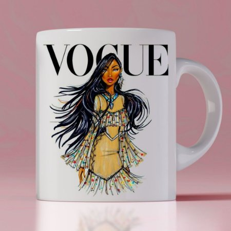 Caneca Vogue Princess Pocahontas