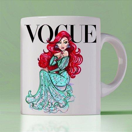 Caneca Vogue Princess Ariel